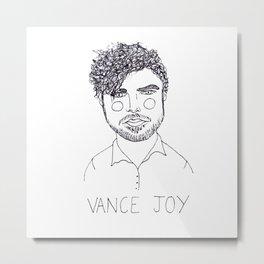 Vance Joy Metal Print