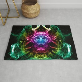 Smoke Warrior Rug