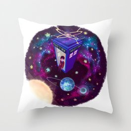Earth Is Protected Throw Pillow