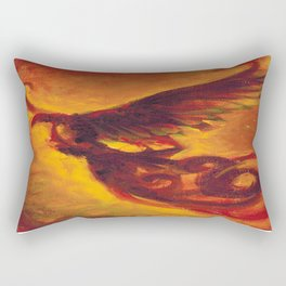 Phoenix Dark  Rectangular Pillow