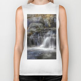 Calm Waters - Waterfall Biker Tank