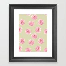 Perennial Pattern Framed Art Print