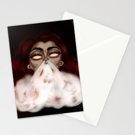 Dragon Smoke Stationery Cards