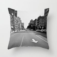 Get On Down The Road Throw Pillow