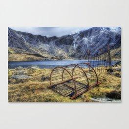 Llyn Idwal  Canvas Print