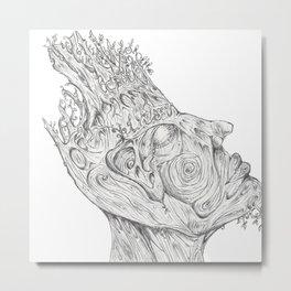 Oaken.  Metal Print