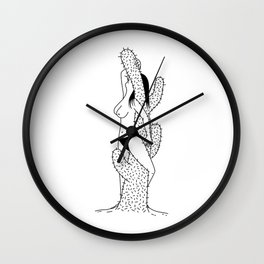 I can blend in and hide the pain Wall Clock