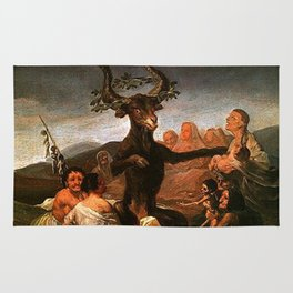 The Sabbath of witches - Goya Rug