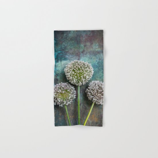 Three Allium Flowers by mariaheyens