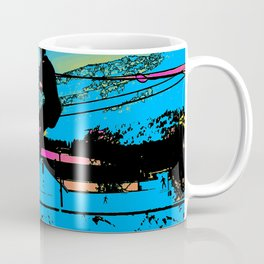 Off the Ramp - Stunt Scooter Rider Coffee Mug