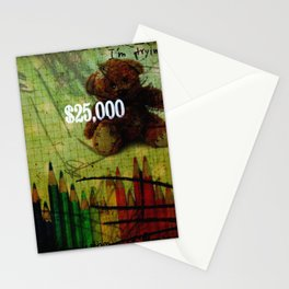 Plushes and monsters #11 Stationery Cards