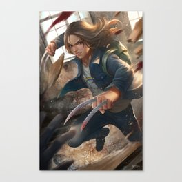 special kind of girl Canvas Print