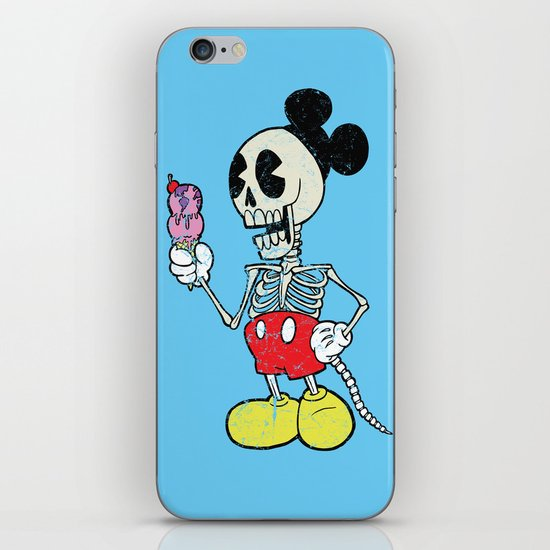 Mickey Bones iPhone & iPod Skin