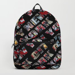 New York City (typography diagonal) Backpack