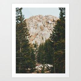 Rocky Mountain Grandeur Art Print