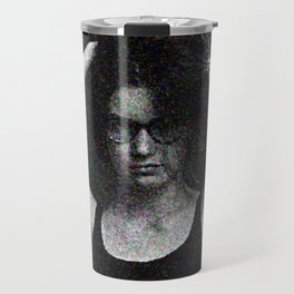 Antonina in black and white Travel Mug