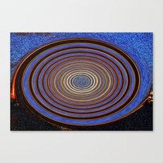 Firework Wheel Canvas Print