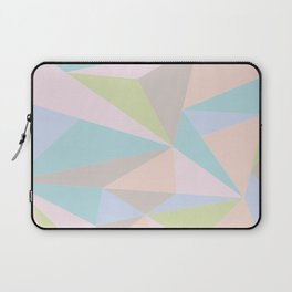 Pastel Triangles Laptop Sleeve