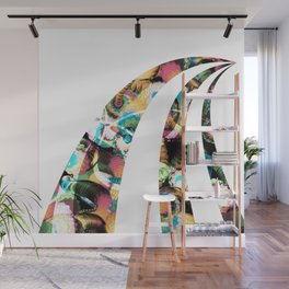 Path in Color Wall Mural