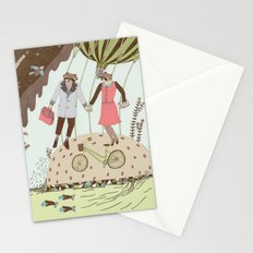 Mr and Mrs Raccoon Stationery Cards