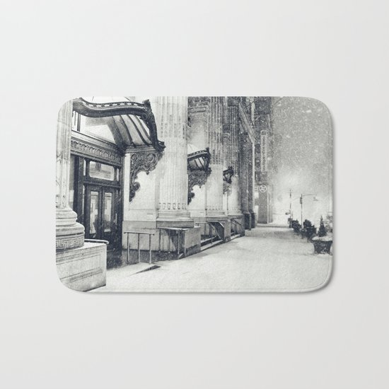 New York City Snow Globe Bath Mat