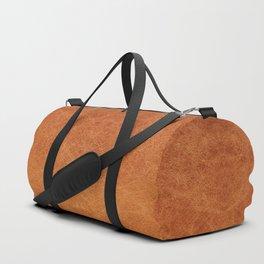 Farmhouse Style Original Camel Leather Oriental Design. Duffle Bag