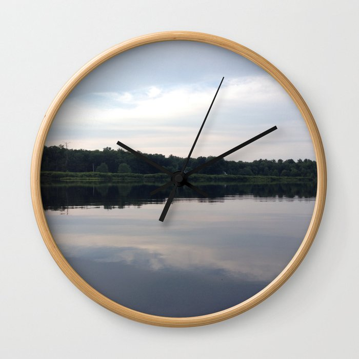 Baesic Reflective Lake Wall Clock