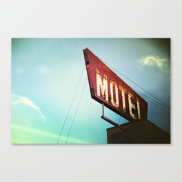 motel schmotel Canvas Print