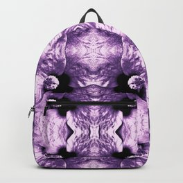 Shiny Purple Flower Design, Pattern Backpack