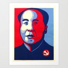 ObaMao Art Print