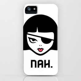 Patchy Says Nah. iPhone Case
