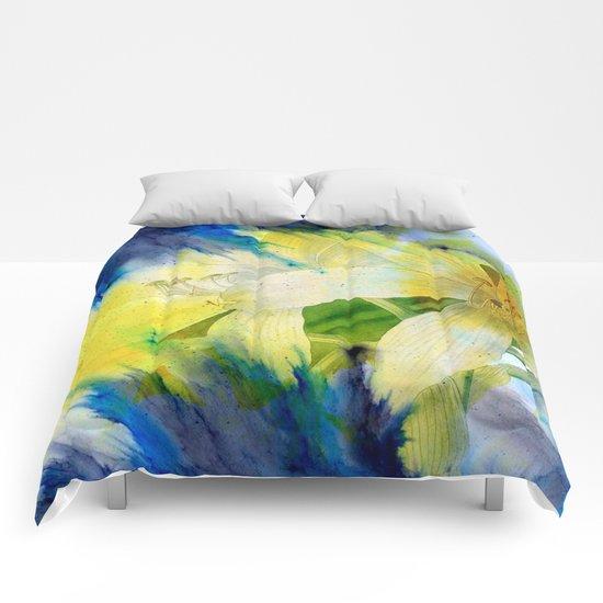 amaryllis 2 Comforters