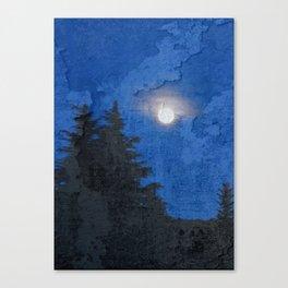Fullmoon Canvas Print