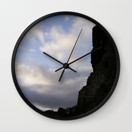 In the Shadow of the Tower - Castledonovan, Ireland Wall Clock