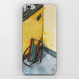 Winter sleds iPhone Skin
