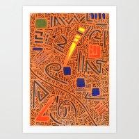 RAYCLEST 7 Art Print