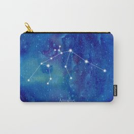 Constellation Aquarius Carry-All Pouch