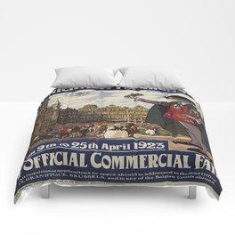 Vintage poster - Brussels Comforters