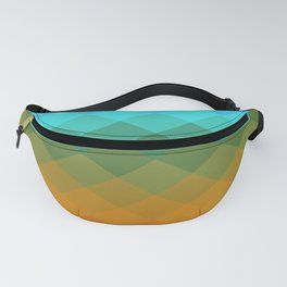 Rombs Vintage colors Fanny Pack