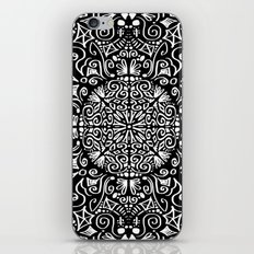 Doodle circle 1 iPhone & iPod Skin