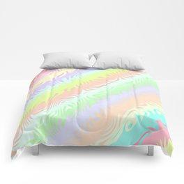 Pastel Rainbow Comforters