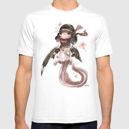 Axolotl Barbare T-shirt