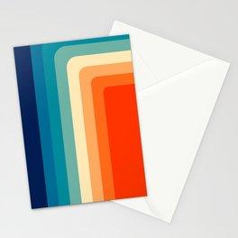 80s Vintage palette Stationery Cards
