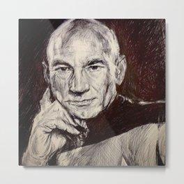 Space Time Metal Print