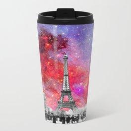 NEBULA VINTAGE PARIS Metal Travel Mug