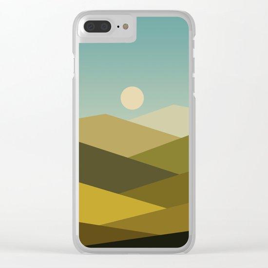 Landscape NC 02 Clear iPhone Case