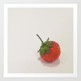 Strawberry - CSA Series Art Print
