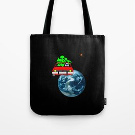 Ride to Mars selfie Tote Bag