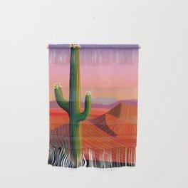 Saguaro Blossoms Wall Hanging