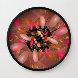 Pink Paradise Wall Clock